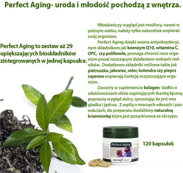 Perfect Aging - naturalny suplement diety dla skóry